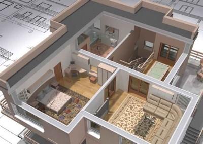 Plano construcción casas