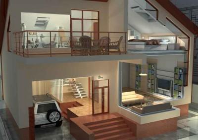 Infografía construcción vivienda